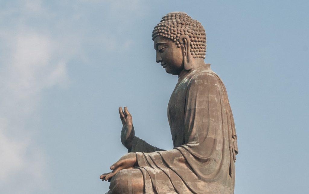 buddha giant tian tan, zen, 34 meters high