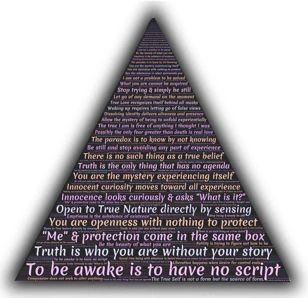 adyashanti, wisdom, triangle