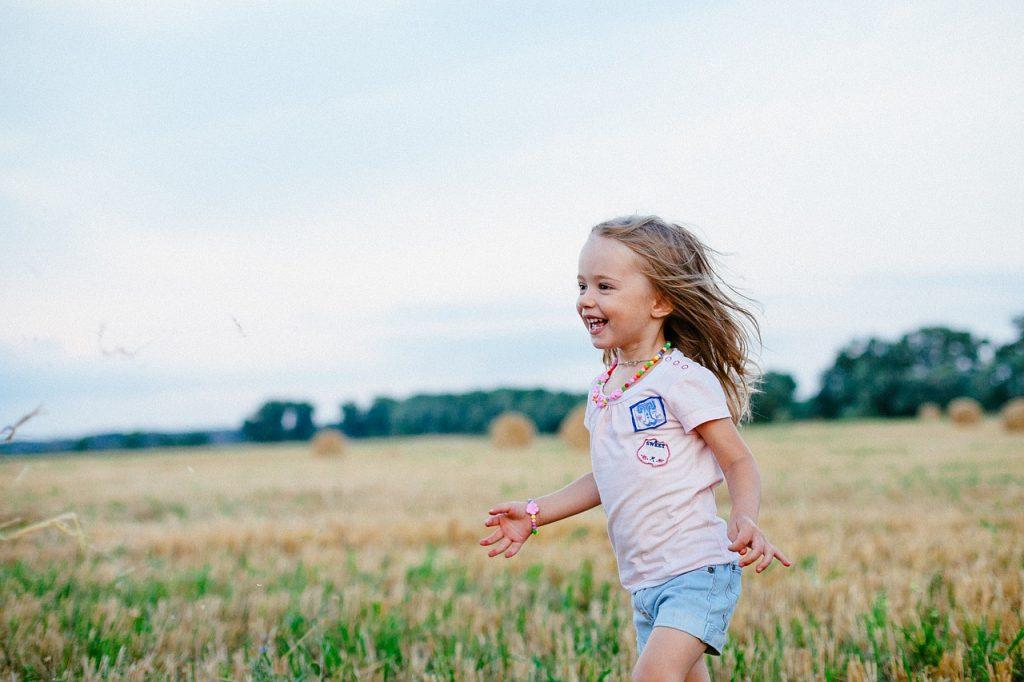 joy, field, summer